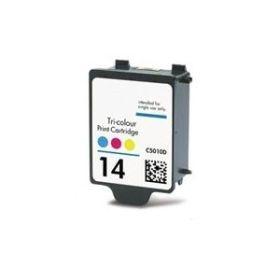 HP 14 Color Cartucho de Tinta Generico - Reemplaza C5010D