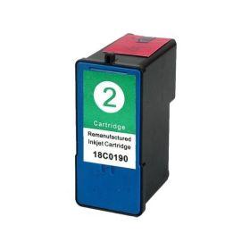 Lexmark 2 Color Cartucho de Tinta Generico - Reemplaza 18C0190
