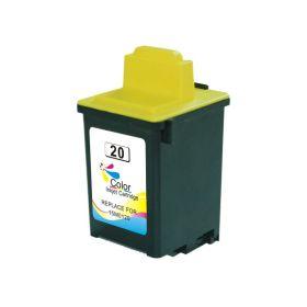 Lexmark 20 Color Cartucho de Tinta Generico - Reemplaza 15MX120E