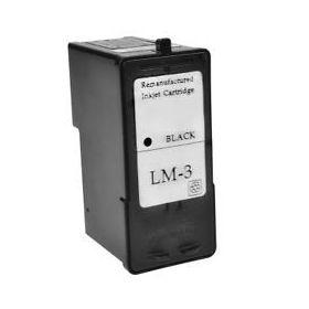 Lexmark 3 Negro Cartucho de Tinta Generico - Reemplaza 18C1530E