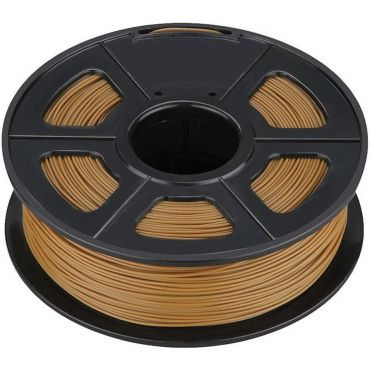 ROLLO DE PLA SUNLU PARA IMPRESORA 3D 330m COLOR CAFE 1,75mm