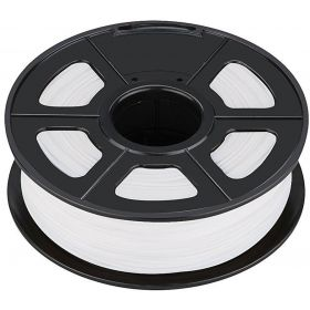 ROLLO DE PLA SUNLU PARA IMPRESORA 3D 330m COLOR BLANCO BRILLA EN LA OSCURIDAD 1,75mm