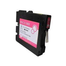 Ricoh GC21M Magenta Cartucho de Tinta Pigmentada Generico - Reemplaza 405534/405538