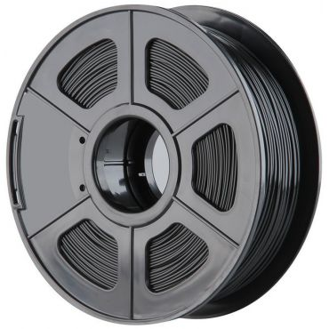 ROLLO DE ABS SUNLU PARA IMPRESORA 3D 400m COLOR NEGRO 1,75mm