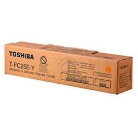Toshiba T-FC25EY Amarillo Cartucho de Toner Original - 6AJ00000081