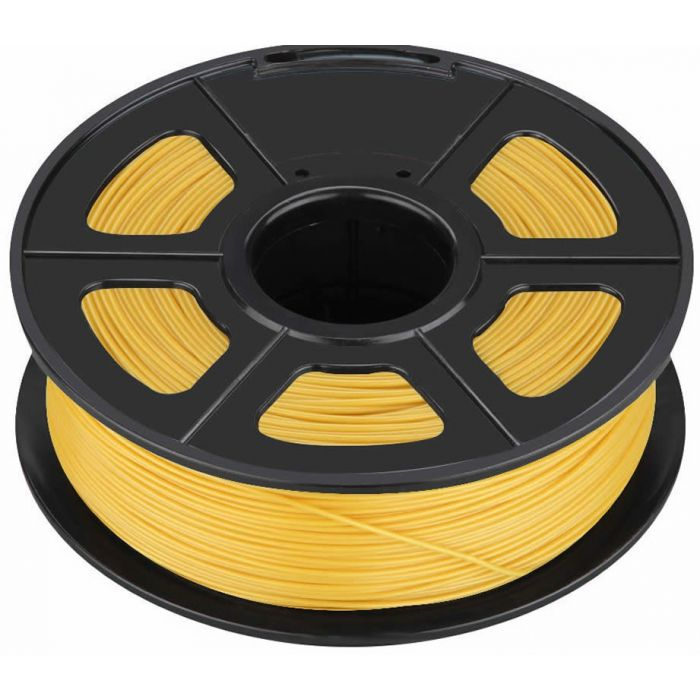 ROLLO DE PLA SUNLU PARA BOLIGRAFO 3D 50m COLOR AMARILLO 1,75mm
