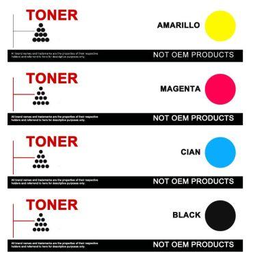 OKI C3500/C3520/C3530/MC350/MC360 COMPATIBLE TONER PACK AHORRO