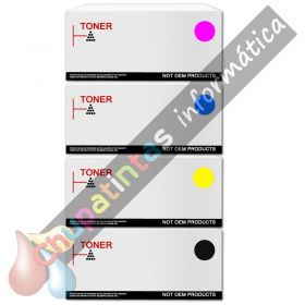 CANON 718 COMPATIBLE TONER PACK AHORRO