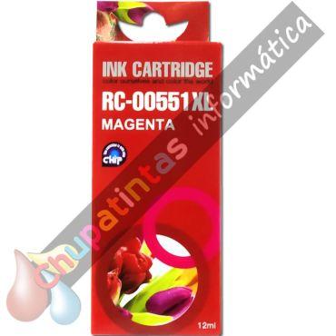CANON CLI551 COMPATIBLE MAGENTA CAPACIDAD XL