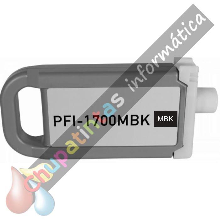 CANON PFI1700/PFI1300/PFI1100 COMPATIBLE NEGRO MATE