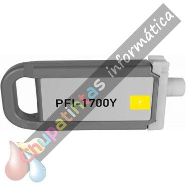 CANON PFI1700/PFI1300/PFI1100 COMPATIBLE AMARILLO