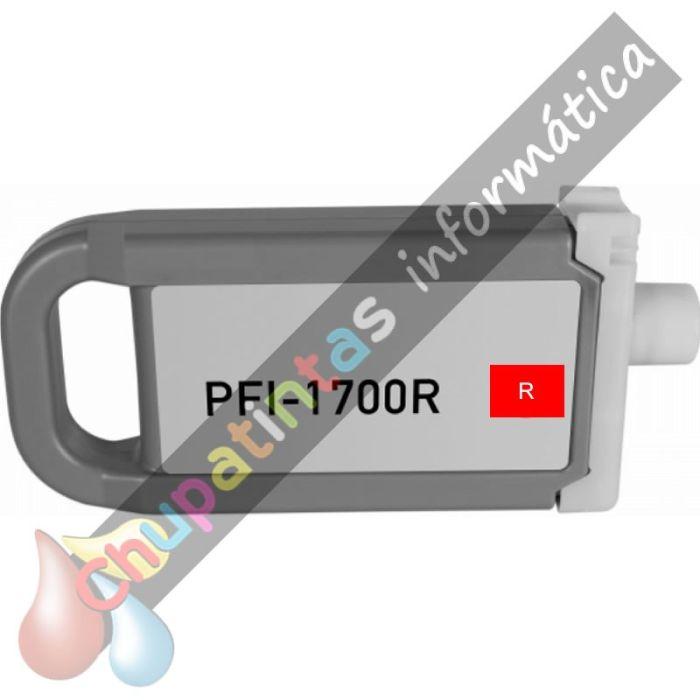 CANON PFI1700/PFI1300/PFI1100 COMPATIBLE ROJO