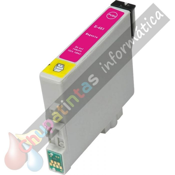 EPSON T0483 COMPATIBLE MAGENTA