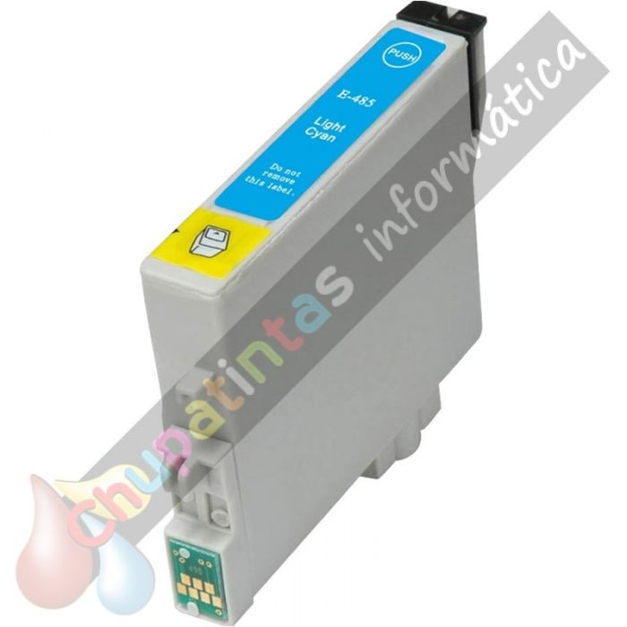 EPSON T0485 COMPATIBLE LIGHT CIAN