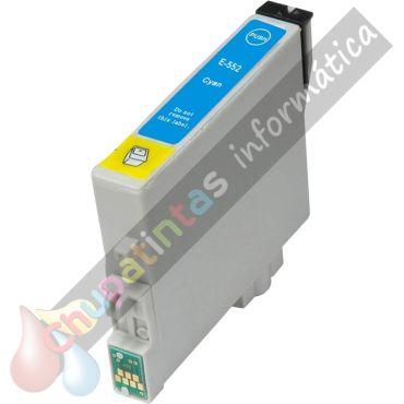 EPSON T0552 COMPATIBLE CIAN