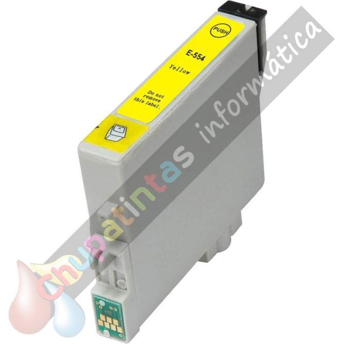 EPSON T0554 COMPATIBLE AMARILLO