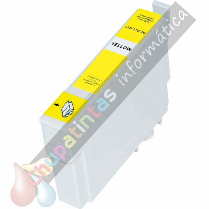 EPSON T2714/T2704 (27XL) COMPATIBLE AMARILLO
