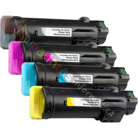 XEROX PHASER 6510 / WORCENTRE 6515 COMPATIBLE TONER PACK AHORRO