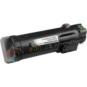 XEROX PHASER 6510 / WORCENTRE 6515 COMPATIBLE TONER NEGRO 106R03480/106R03476