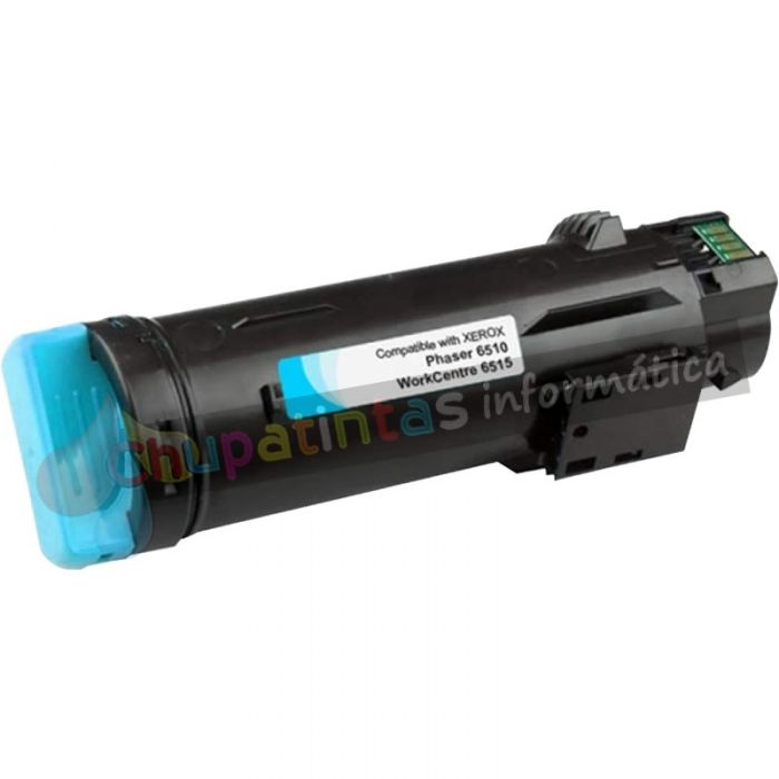 XEROX PHASER 6510 / WORCENTRE 6515 COMPATIBLE TONER CIAN 106R03690/106R03477