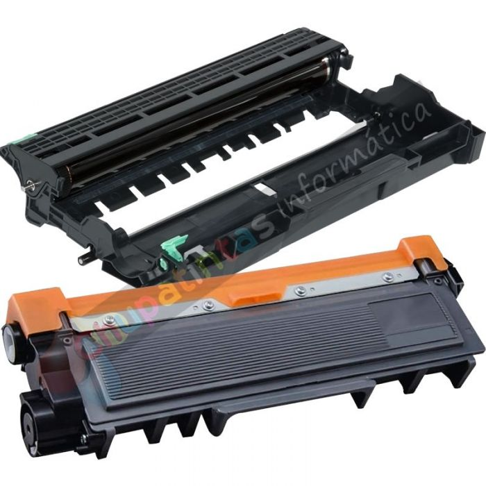 BROTHER TN2320 TONER COMPATIBLE + DR2300 TAMBOR COMPATIBLE PACK AHORRO