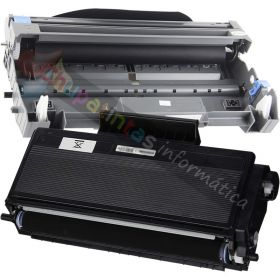 BROTHER TN3170/TN3280 TONER COMPATIBLE + DR3100/3200 TAMBOR PACK AHORRO