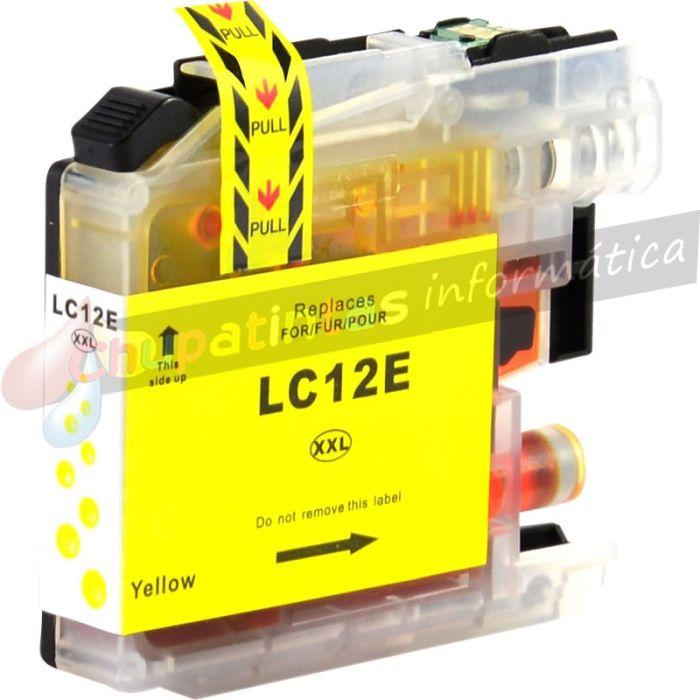 BROTHER LC12E COMPATIBLE AMARILLO