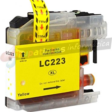 BROTHER LC223 / LC221 COMPATIBLE AMARILLO