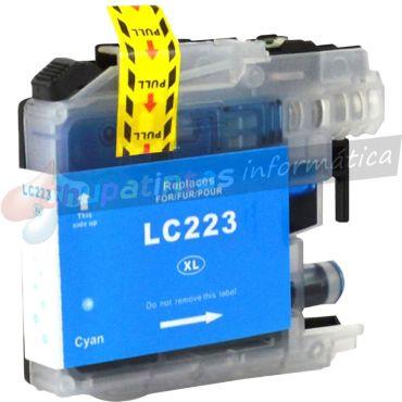 BROTHER LC223 / LC221 COMPATIBLE CIAN CAPACIDAD XL
