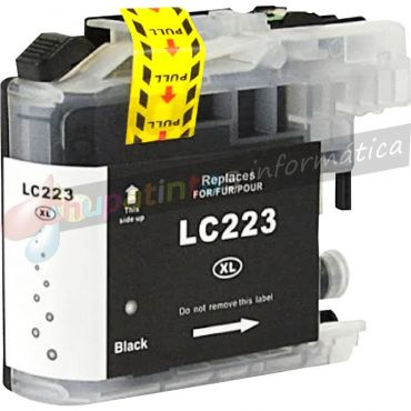 BROTHER LC223 / LC221 COMPATIBLE NEGRO
