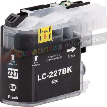 BROTHER LC227 COMPATIBLE NEGRO