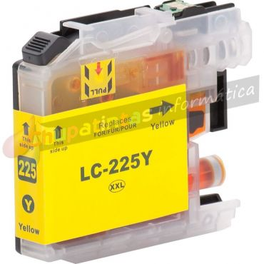 BROTHER LC225 COMPATIBLE AMARILLO