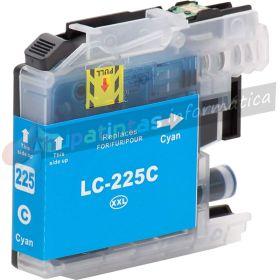 Brother LC225XL V3 Cyan Cartucho de Tinta Generico - Reemplaza LC225XLC