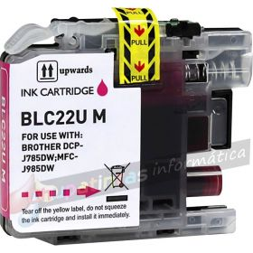 BROTHER LC22U COMPATIBLE MAGENTA