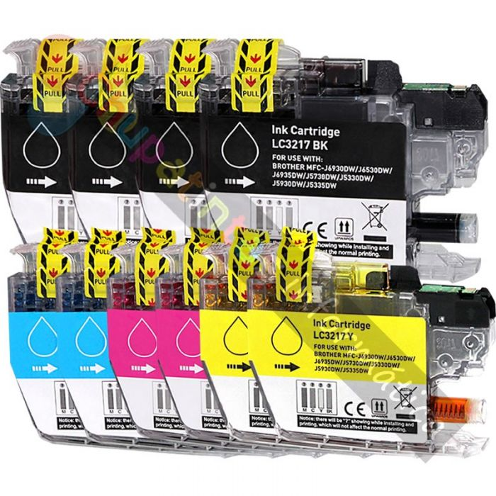 BROTHER LC3217 COMPATIBLE PACK AHORRO 10 CARTUCHOS