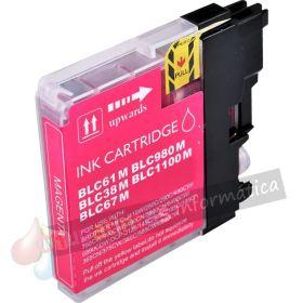 BROTHER LC980/LC1100/LC985 COMPATIBLE MAGENTA CAPACIDAD XL