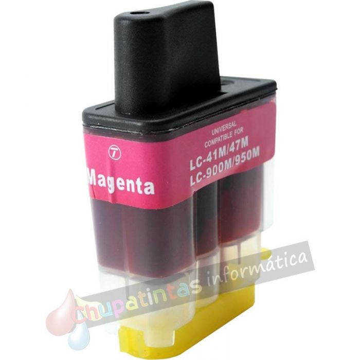 BROTHER LC900 COMPATIBLE MAGENTA