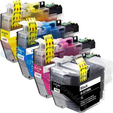 BROTHER LC3219 COMPATIBLE PACK AHORRO 4 CARTUCHOS XL