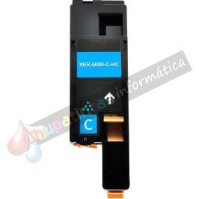 XEROX PHASER 6000/6010 COMPATIBLE TÓNER CYAN 106R01627