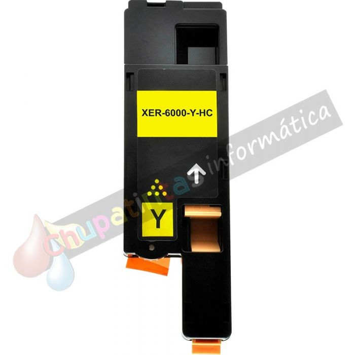 XEROX PHASER 6000/6010 COMPATIBLE TONER AMARILLO 106R01629