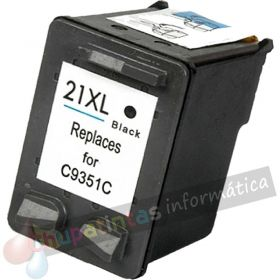 HP 21 COMPATIBLE NEGRO CAPACIDAD XL