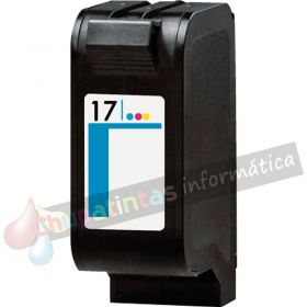 HP 17 COMPATIBLE TRICOLOR CAPACIDAD XL