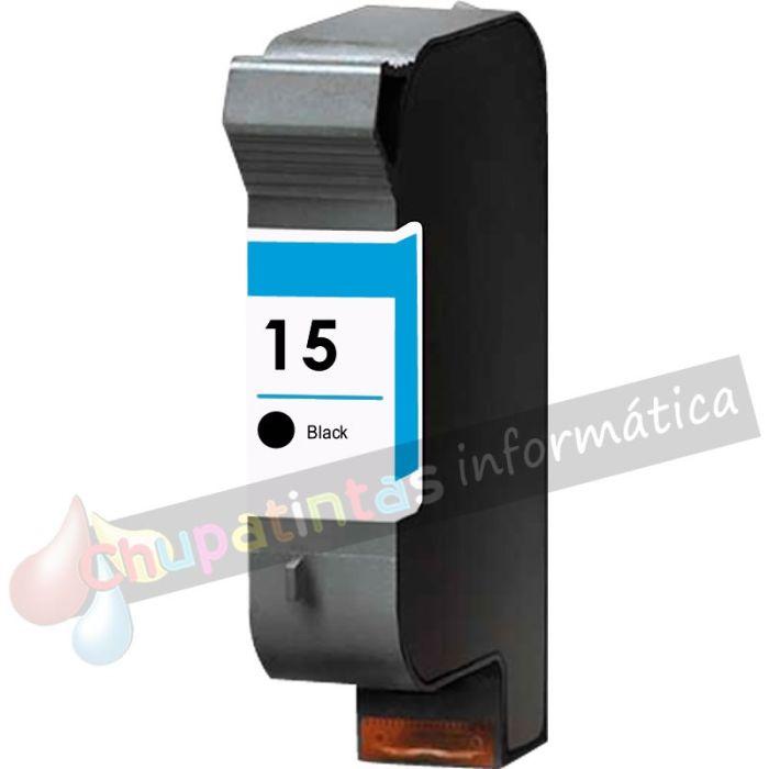 HP 15 COMPATIBLE NEGRO CAPACIDAD XL