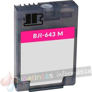 CANON BJI643 COMPATIBLE MAGENTA