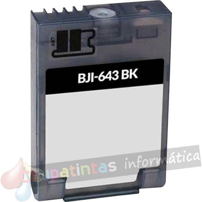 CANON BJI643 COMPATIBLE NEGRO