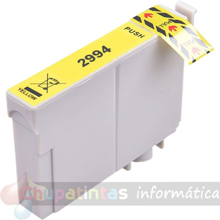 EPSON T2994/T2984 (29XL) COMPATIBLE AMARILLO V2