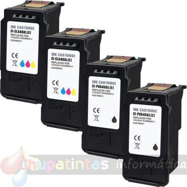 CANON PG545 + CANON CL546 COMPATIBLE CAPACIDAD XL PACK AHORRO 4 CARTUCHOS