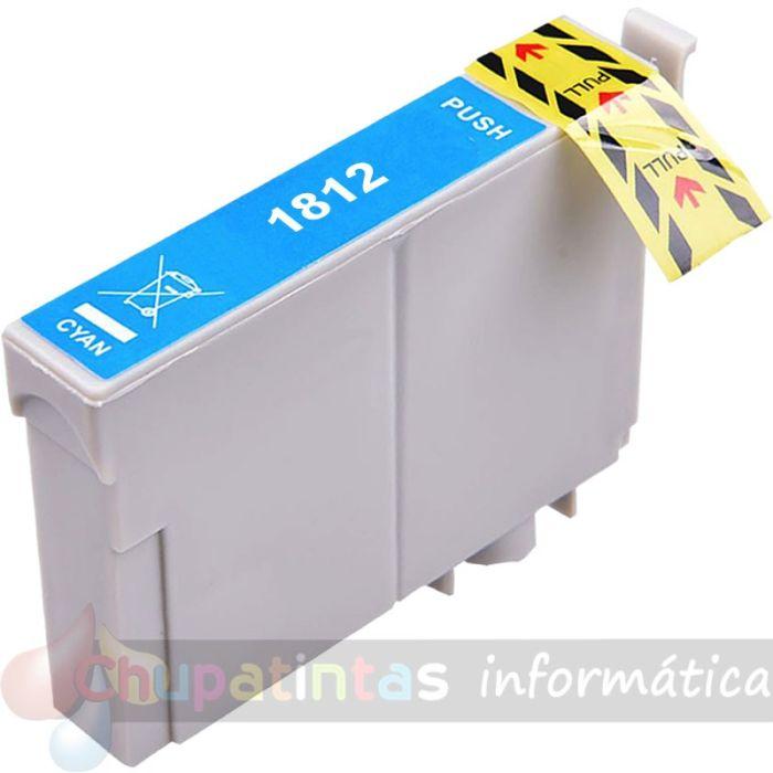 EPSON T1812 COMPATIBLE CIAN XL