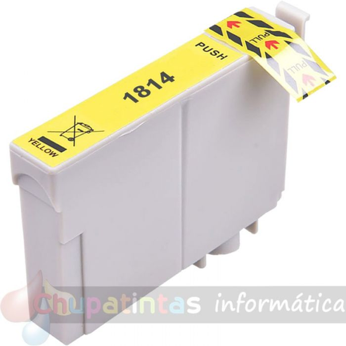 EPSON T1814 COMPATIBLE AMARILLO XL