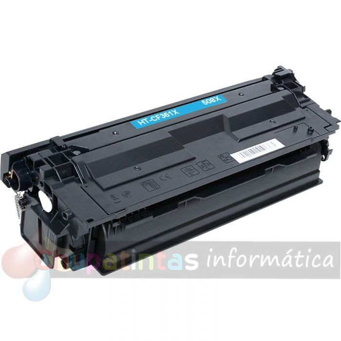 HP CF361X COMPATIBLE TONER CIAN HP 508X